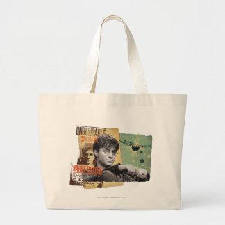 Harry Potter 13 Large Tote Bag