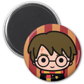 Harry Potter Cartoon Character Art Magnet