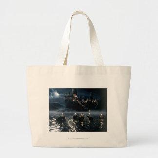 Harry Potter Castle | Arrival at Hogwarts Large Tote Bag