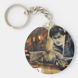 Harry Potter Collage 7 Key Ring