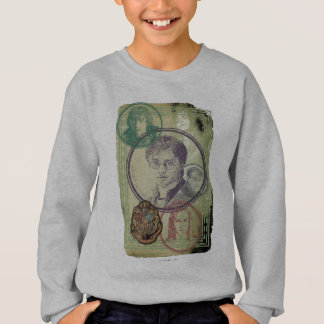 Harry Potter Collage 9 Sweatshirt