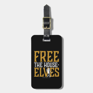 Harry Potter   Free The House Elves Luggage Tag