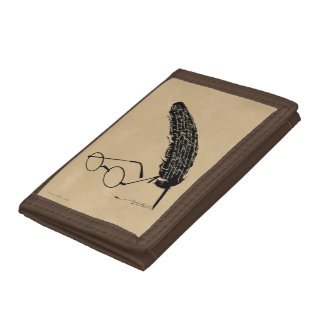 Harry Potter | Glasses And Quill Trifold Wallets