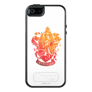 Harry Potter | Gryffindor Crest - Splattered OtterBox iPhone 5/5s/SE Case