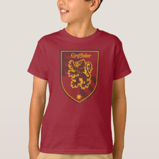 Harry Potter | Gryffindor House Pride Crest T-Shirt