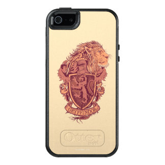Harry Potter | Gryffindor Lion Crest OtterBox iPhone 5/5s/SE Case