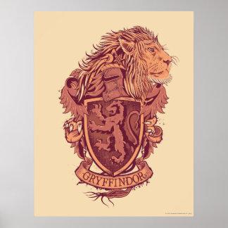 Harry Potter | Gryffindor Lion Crest Poster