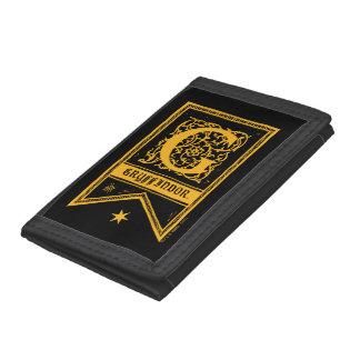 Harry Potter | Gryffindor Monogram Banner Tri-fold Wallets