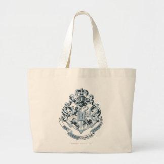 Harry Potter | Hogwarts Crest - Blue Large Tote Bag