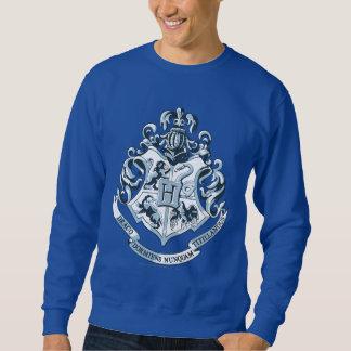 Harry Potter   Hogwarts Crest Blue Sweatshirt