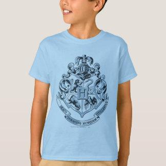 Harry Potter   Hogwarts Crest Blue T-Shirt