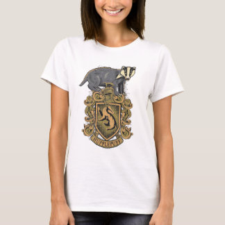 Harry Potter | Hufflepuff Crest with Badger T-Shirt