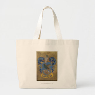 Harry Potter | Rustic Ravenclaw Painting Large Tote Bag