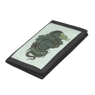 Harry Potter | Slytherin Crest Trifold Wallet