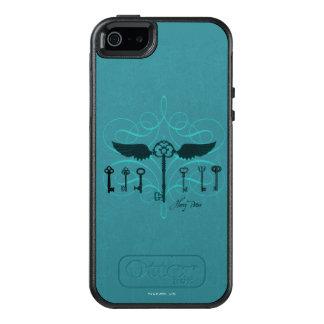Harry Potter Spell | Flying Keys OtterBox iPhone 5/5s/SE Case