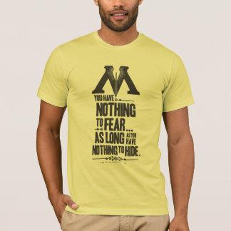 Harry Potter Spell | Ministry of Magic Propaganda T-Shirt