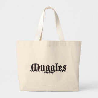 Harry Potter Spell | Muggles Large Tote Bag