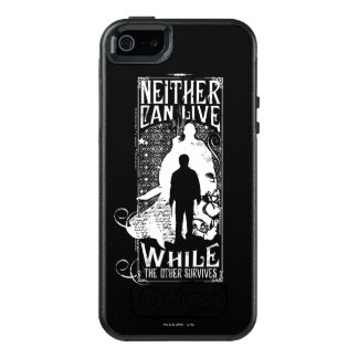 Harry Potter Spell | Neither Can Live OtterBox iPhone 5/5s/SE Case