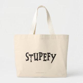 Harry Potter Spell | Stupefy Stunning Spell Large Tote Bag