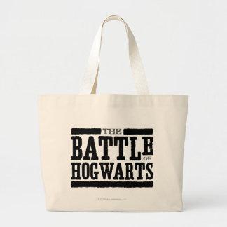 Harry Potter Spell | The Battle of Hogwarts Large Tote Bag
