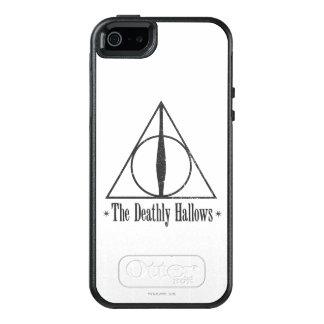 Harry Potter   The Deathly Hallows Emblem OtterBox iPhone 5/5s/SE Case