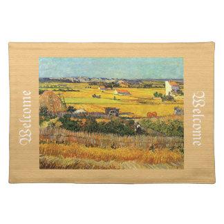 Harvest at La Crau...Vincent van Gogh Placemat