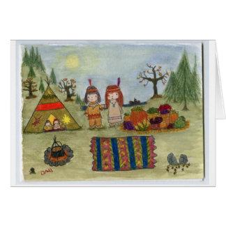 """Harvest Feast"" Greeting Card"