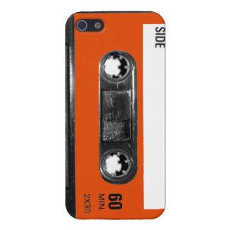 Harvest Orange Label Cassette iPhone 5 Cover