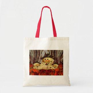 Harvest Scarecrows Tote Bag