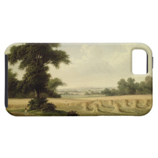 Harvesting (oil on canvas) iPhone 5 case