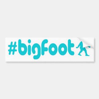 Hashtag Bigfoot Bumper Sticker