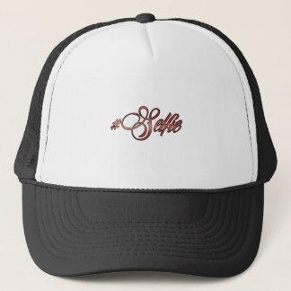 Hashtag Selfie Multicolor Trucker Hat