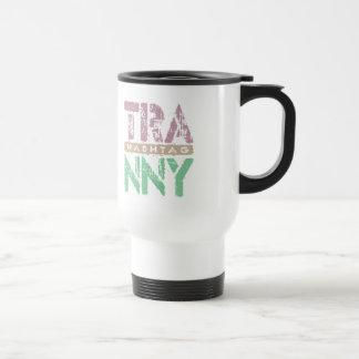 Hashtag TRANNY - Love Rebuilt Transmissions, Plum Stainless Steel Travel Mug