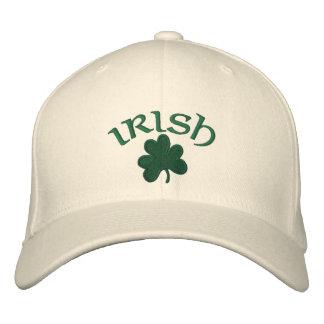 Hat-Irish Shamrock Embroidered Hat