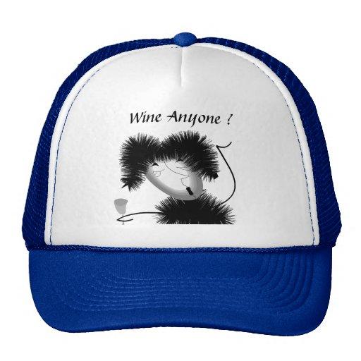 "Hat ""Wine anyone ?"""