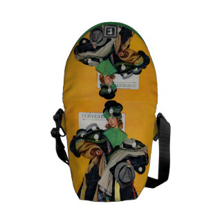 Hatcheck Girl Messenger Bags