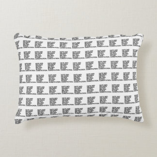 HATE AND RELIGION DO NOT BELONG ACCENT CUSHION