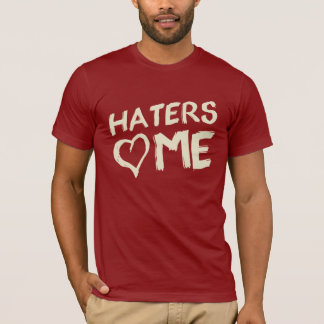HATERS Love ME Graphic TEE