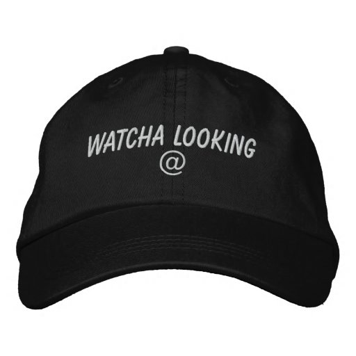 Hats Embroidered Hat