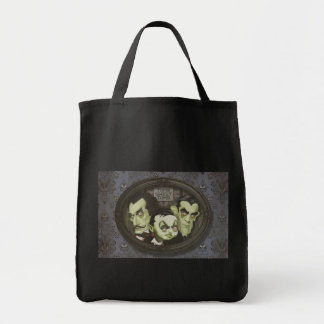 Haunted Zombie Ghastly Trio Tote Bag