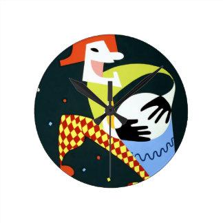Havana Carnival 1952 Round Clock