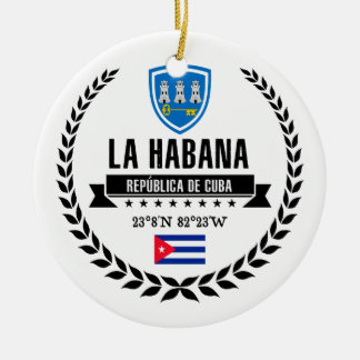 Havana Christmas Ornament