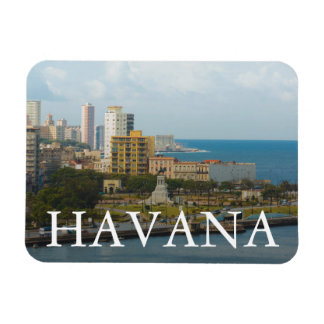Havana Waterfront, Cuba. Magnet