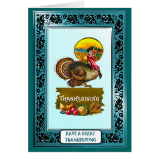 Have a great Thanksgiving - Traditional Card