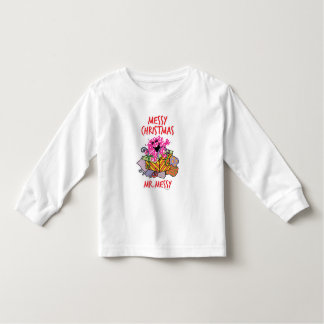 Have A Messy Christmas Toddler T-Shirt