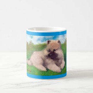 """Havel"" Keeshond Puppy Mug"