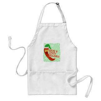 Having A Spicy Holiday Standard Apron