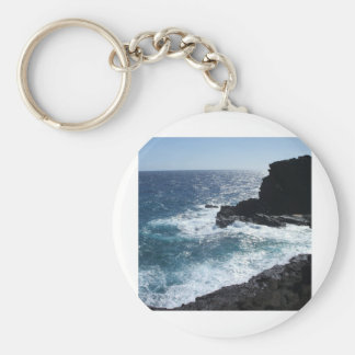 hawaii 013 basic round button key ring