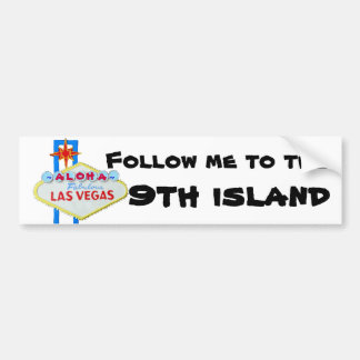 Hawaii 9th Island Bumper Sticker
