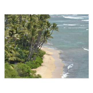 Hawaii Beaches Postcard